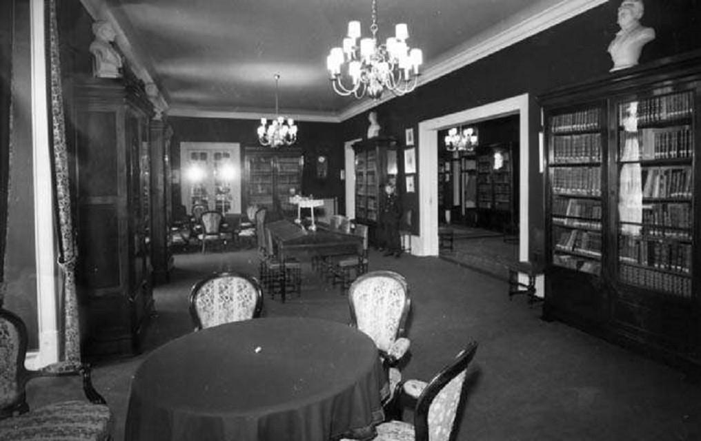 Grémio Literário, interior, 1969, foto de Armand