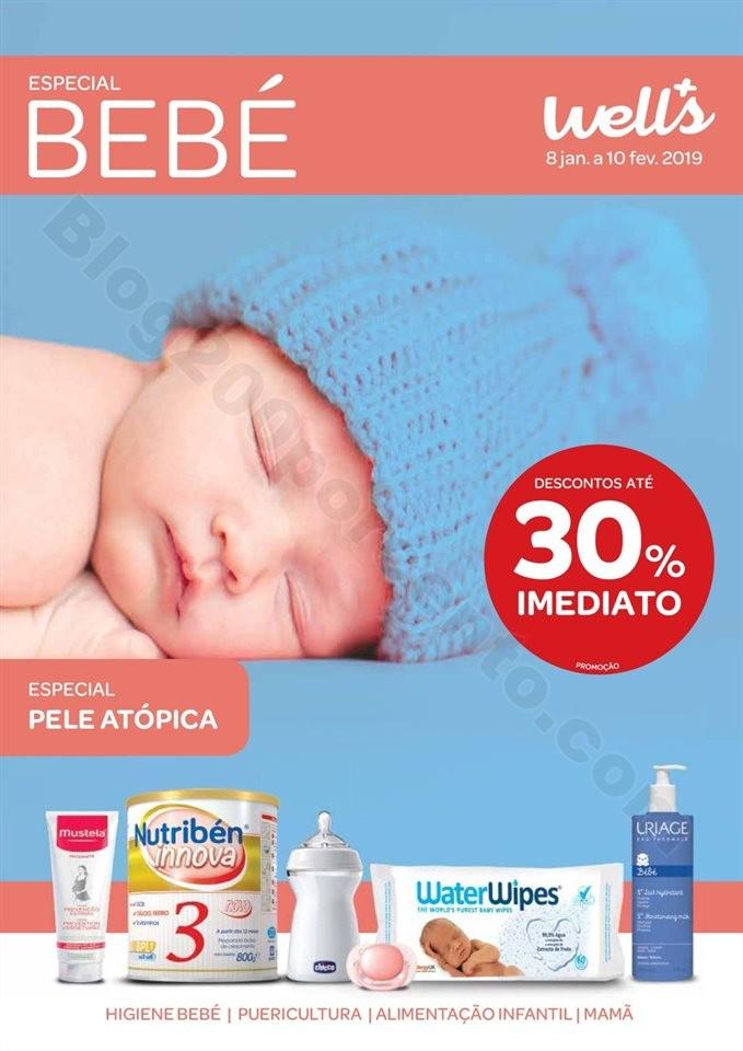 Antevisão Folheto WELLS Especial Bebé Promoçõe