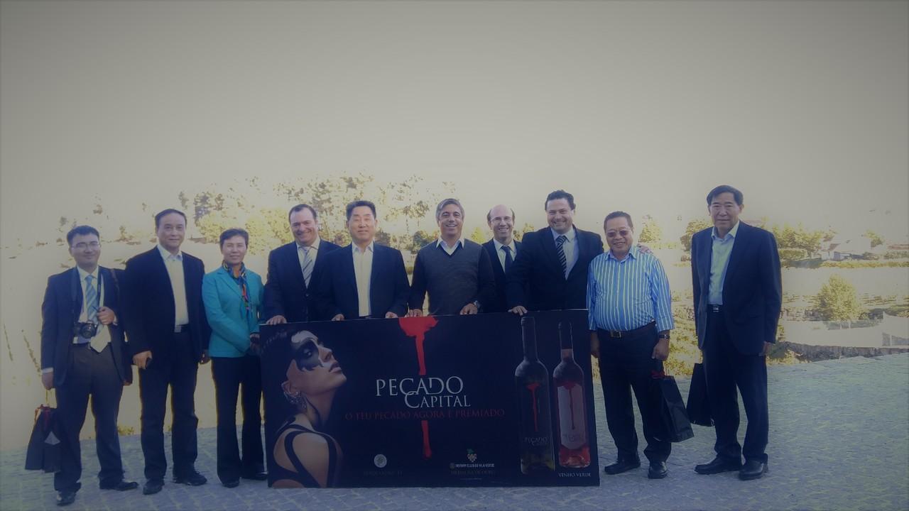 Visita de Empresários Chineses ao Tâmega e Sou