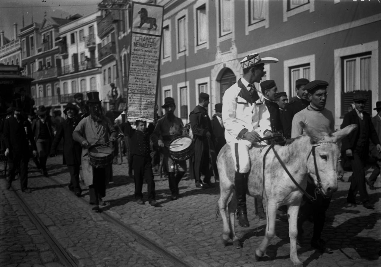 Carnaval da Escola Politécnica, 1911, foto de Alb