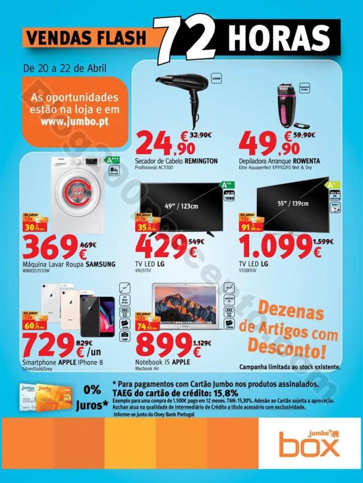 Vendas Flash JUMBO - BOX Promoções de 20 a 22 ab