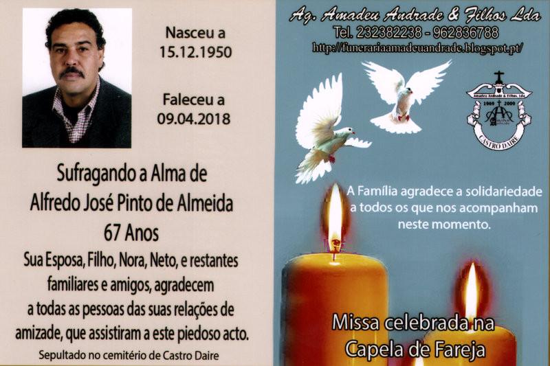 CARTÃO DE AGRADECIMENTO 2 DE ALFREDO JOSÉ PINTO