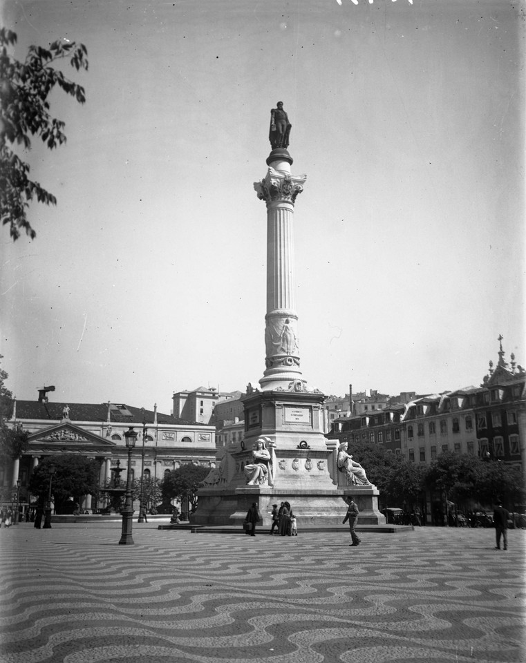 Monumento a Dom Pedro IV, sd, foto de José Chaves