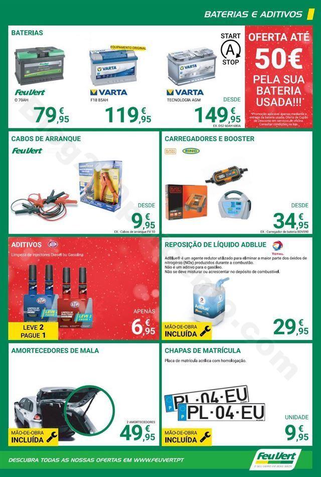 Antevisão Folheto FEUVERT Natal Promoções de 25