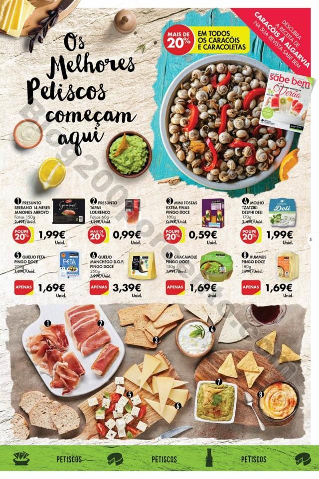 Antevisão Folheto PINGO DOCE Petiscos Promoções