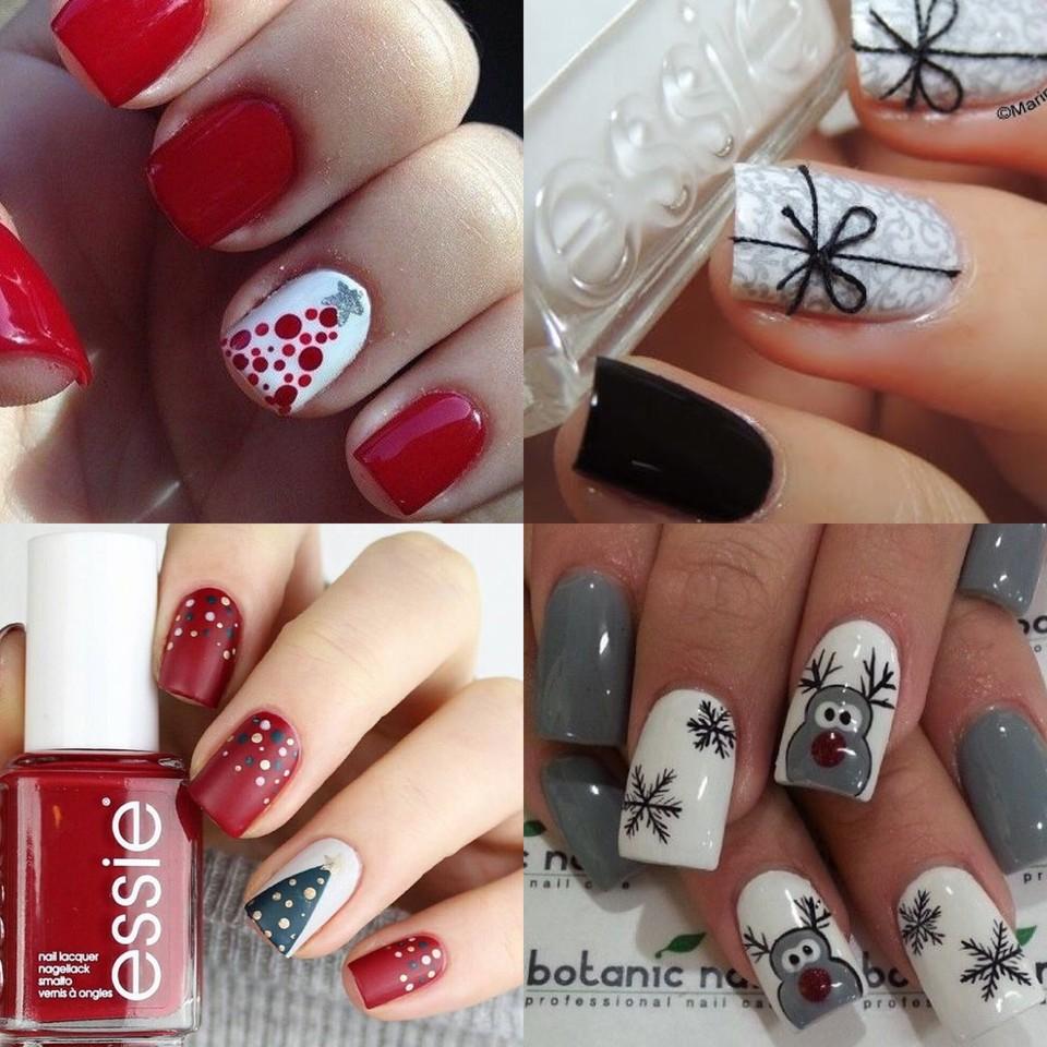 BLOGMAS | Dia 23: manicure de Natal