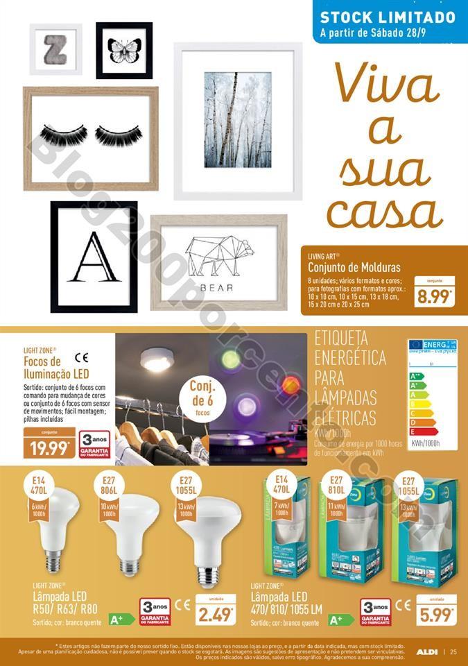Antevisão Folheto ALDI Promoções a partir de 25