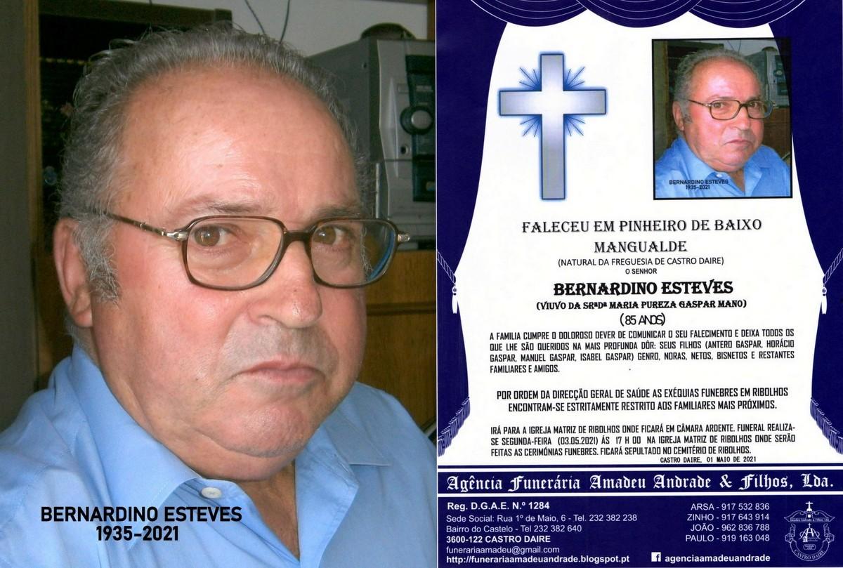 FOTO RIP DE BERNARDINO ESTEVES-85 ANOS (RIBOLHOS).