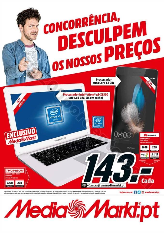 Antevisão Folheto MEDIA MARKT Promoções de 25 a