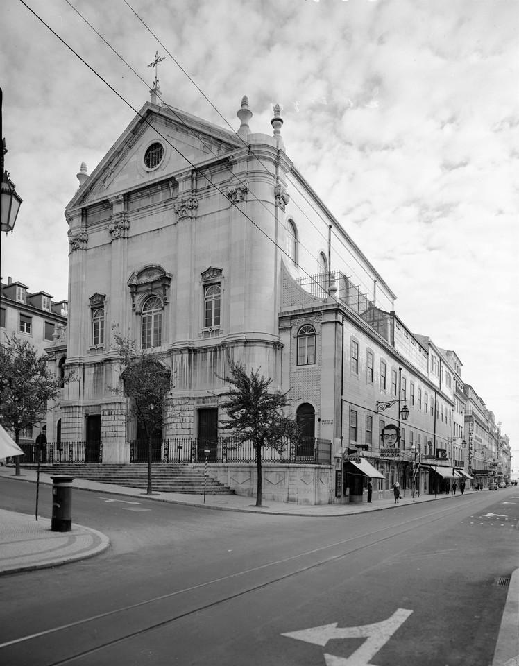 Igreja de São Nicolau, fachada principal, 1959, f