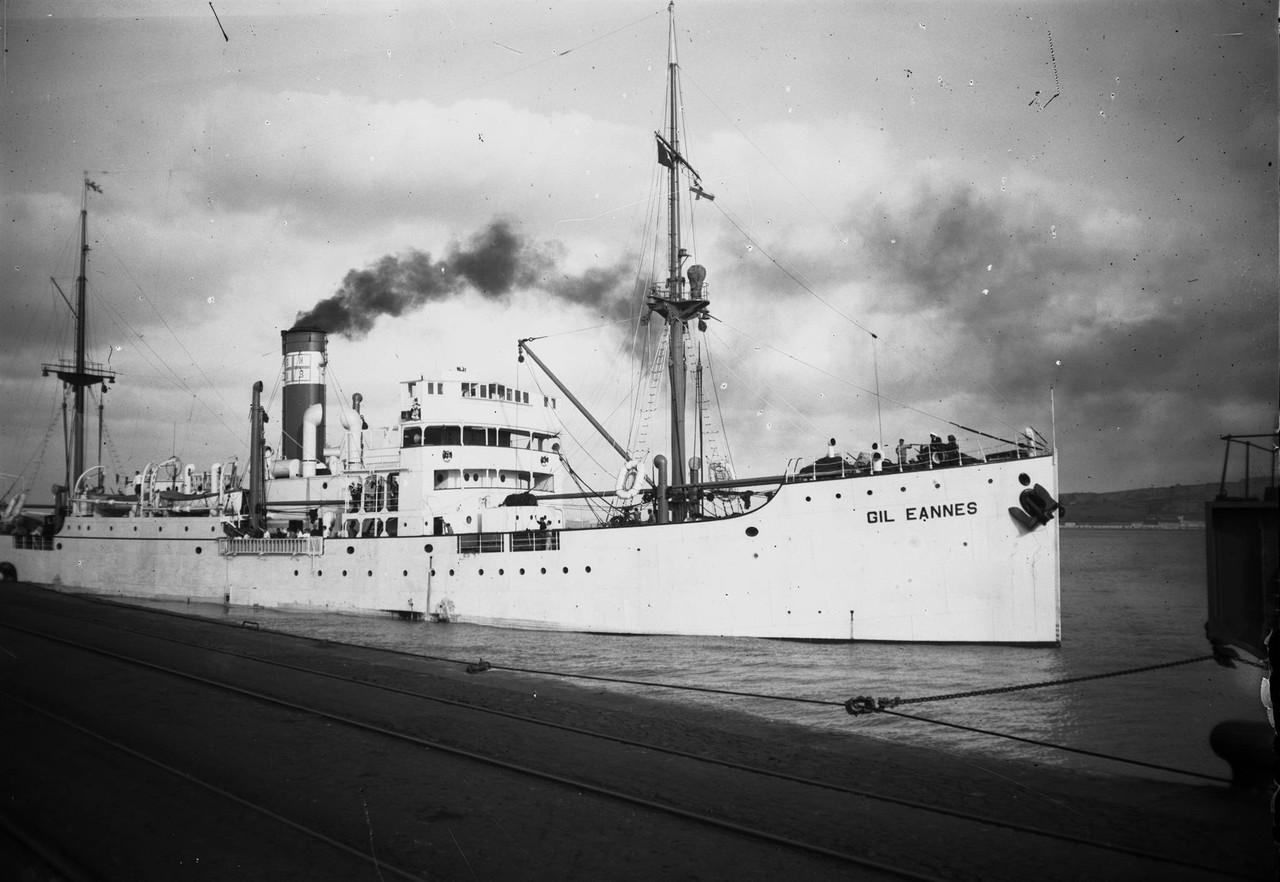 Navio hospital Gil Eanes, destinado ao apoio dos b
