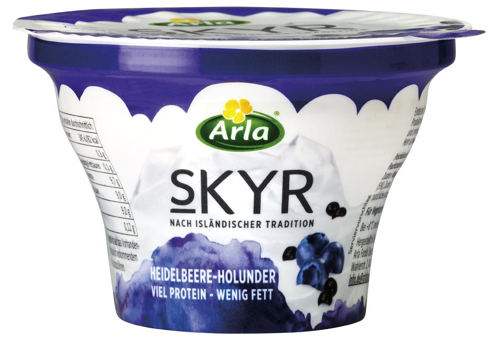 430713 - Arla Skyr Blueberry-Elderberry, 150g, fro