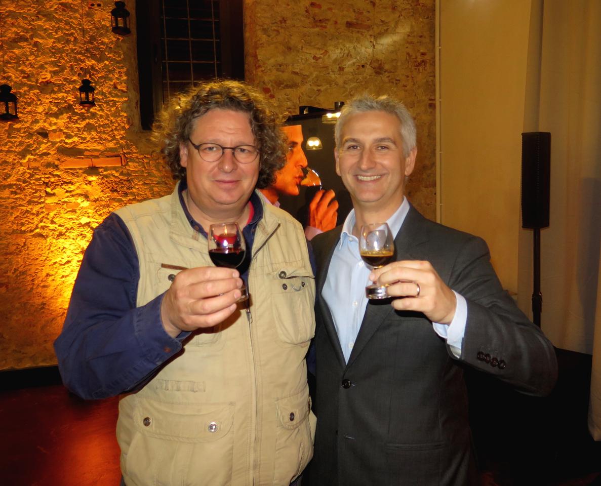 Dirk Niepoort e Stefano Goglio