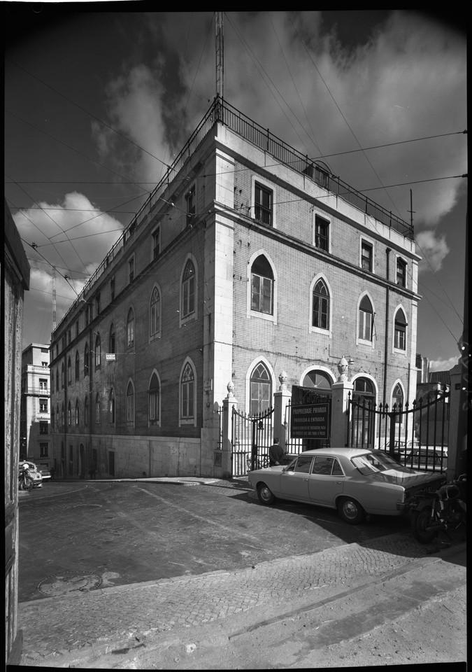 Edifício do antigo Hotel Braganza, na Rua Vitor C