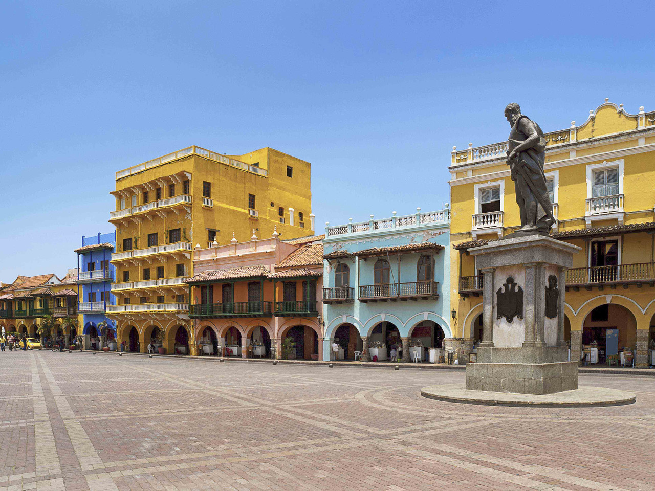 Home of 'the sea of seven colours', Cartagena is j
