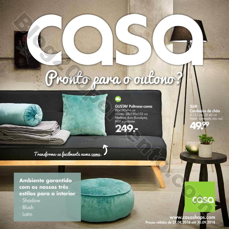 Antevisão Folheto CASA Promoções de  27 agosto