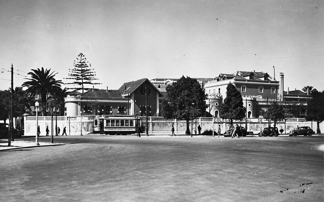 Colégio Normal de Lisboa, 1938, foto de Eduardo P