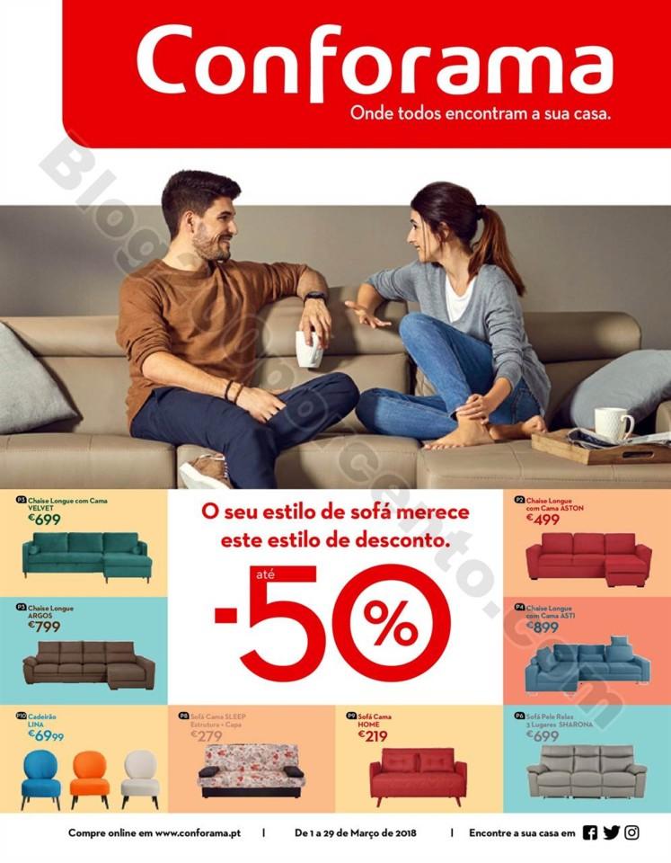 Antevisão Folheto CONFORAMA Promoções de 1 a 29