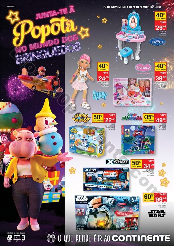 Antevisão Brinquedos cnt 27 novembro a 10 dezembr