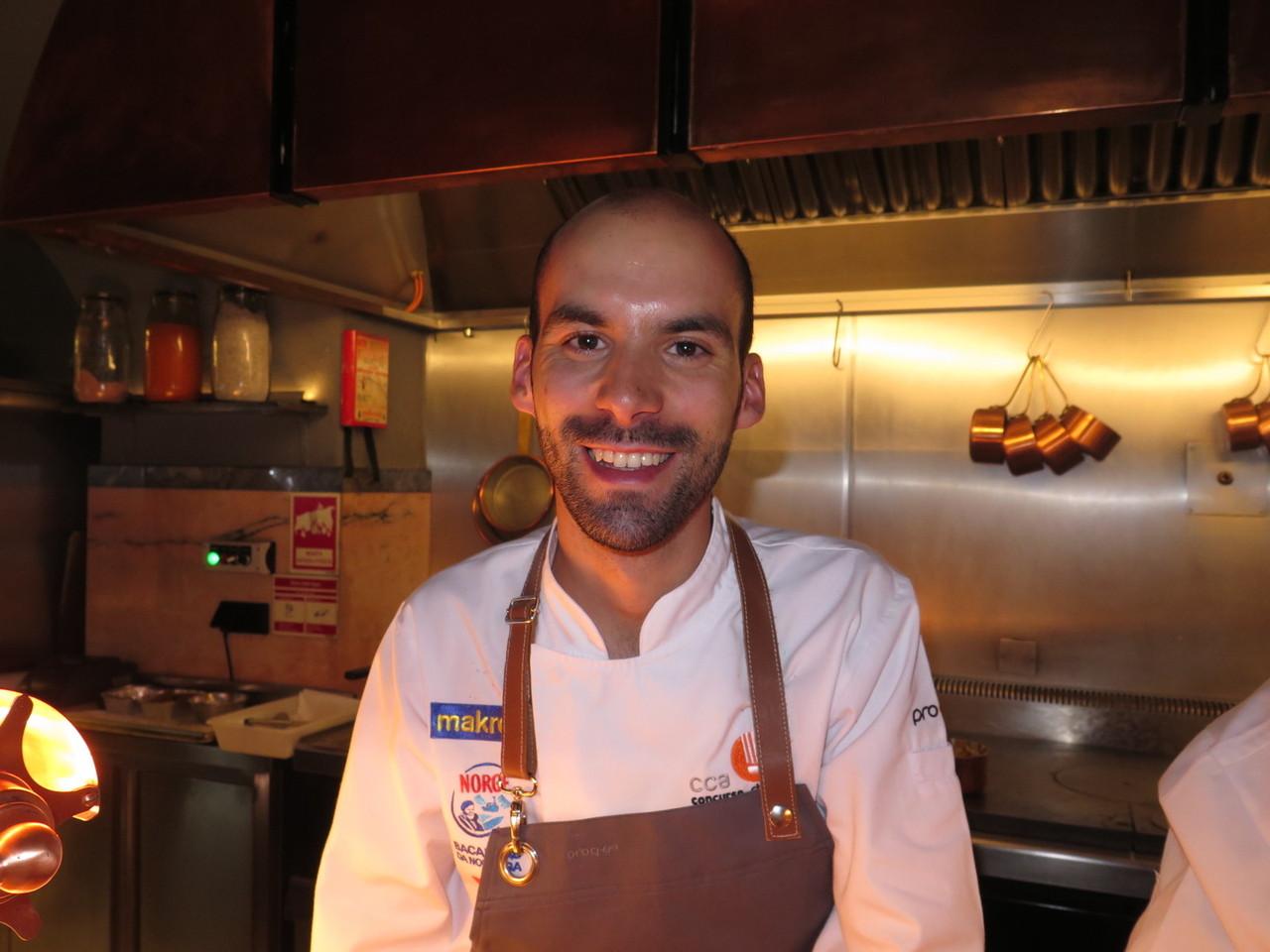 Luís Gaspar, Chefe Cozinheiro do Ano 2017