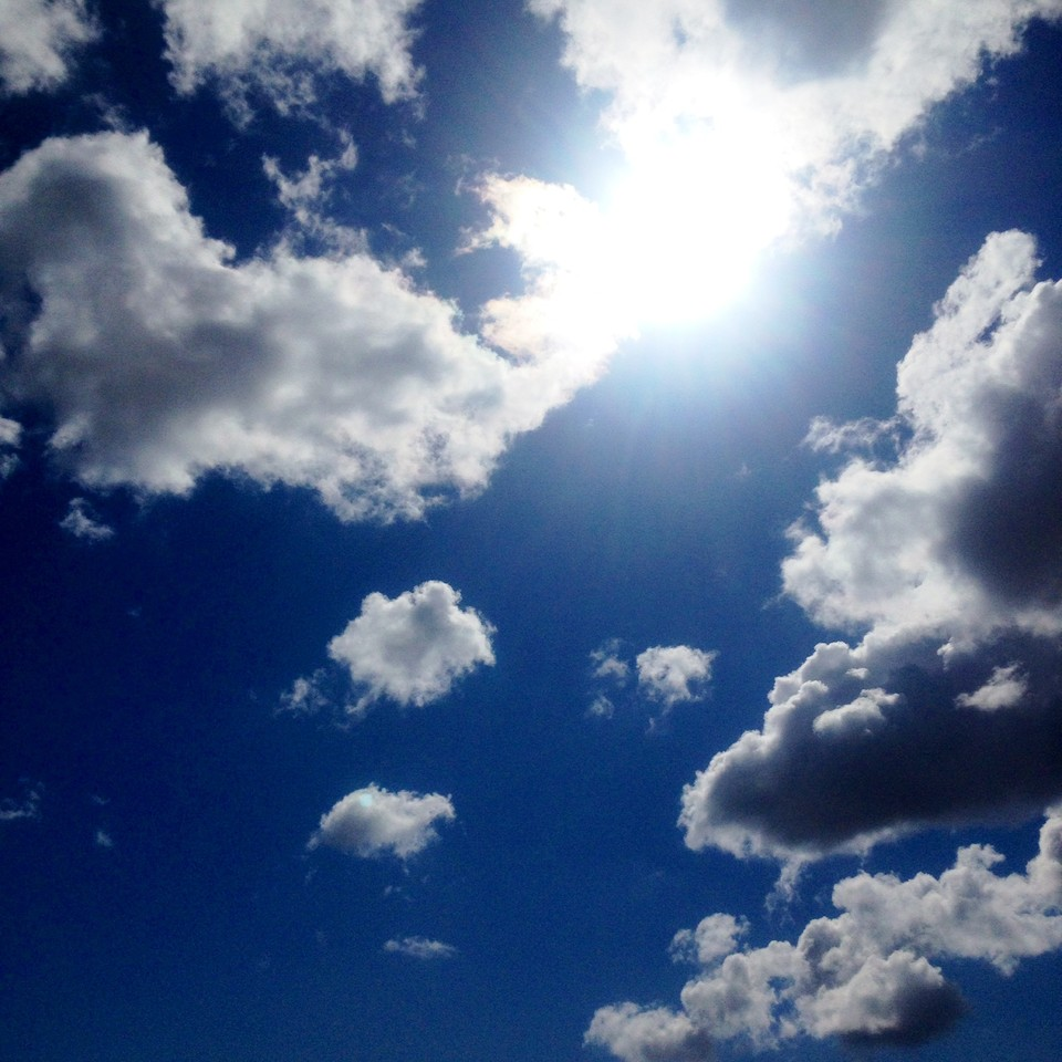 Agradecer ao céu