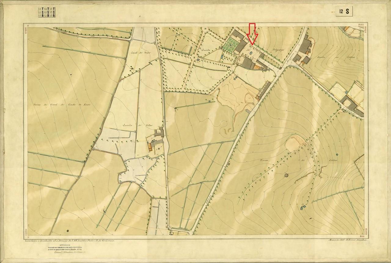 Planta Topográfica de Lisboa 12 S, 1906, de Alber