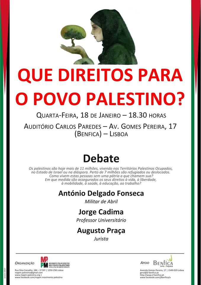 Cartaz direitos povo palestino 2017-01-18