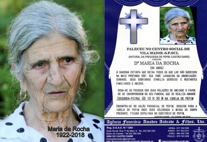 FOTO RIP MARIA DA ROCHA -96 ANOS (MOSTEIRO-PEPIM).