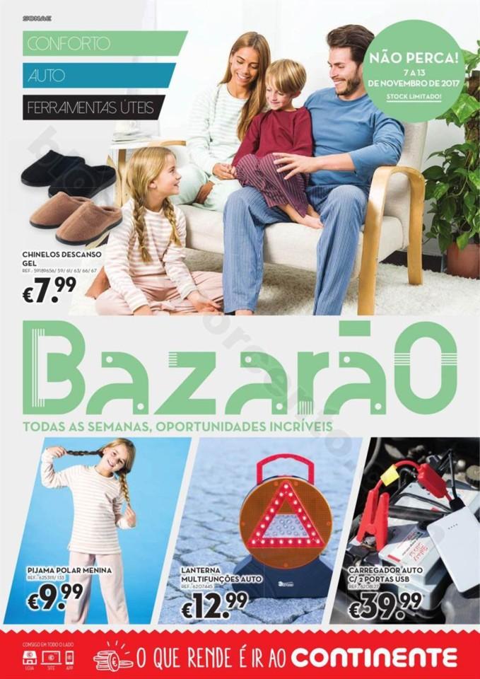 Antevisão Folheto Bazarão CONTINENTE Promoções