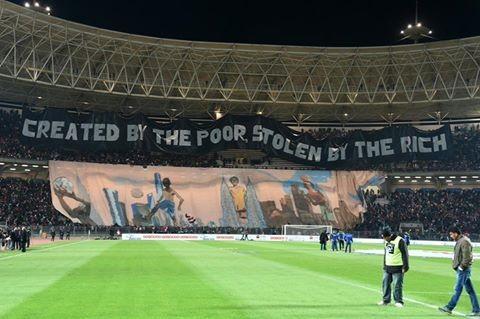 Futebol - Criado pelos pobres, roubado pelos ricos