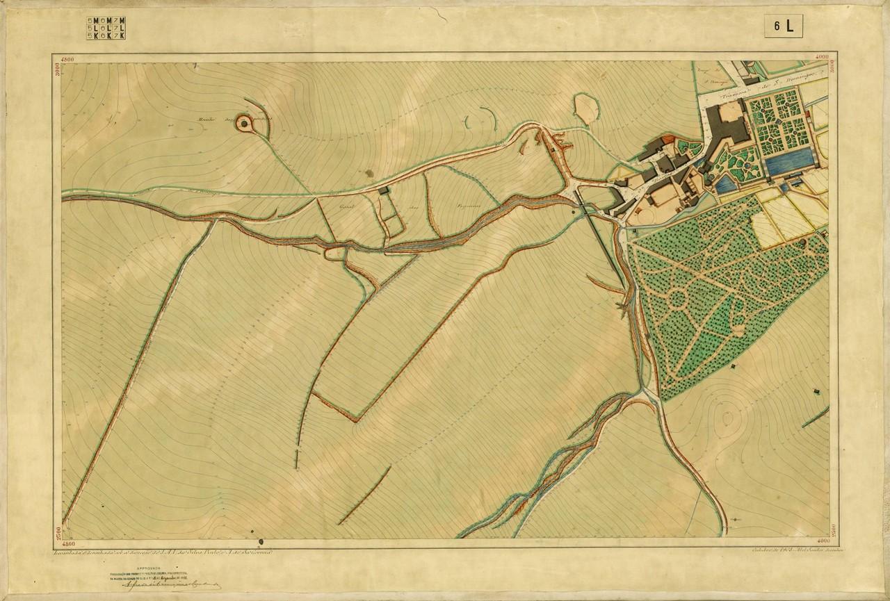 Planta Topográfica de Lisboa 6 L, 1908, de Albert