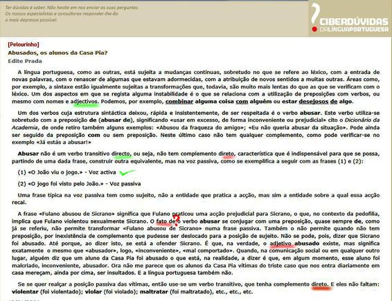 Ciberdúvidas em mau português