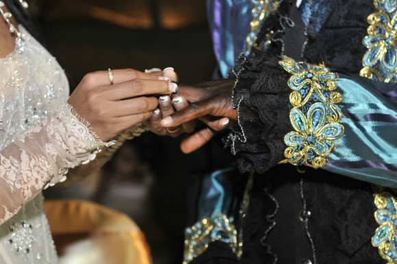 Veja as fotos do casamento de Sebem e Débora