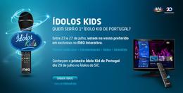 Ídolos Kids – Abertas as votações para o Primeiro Ídolo Kid de Portugal