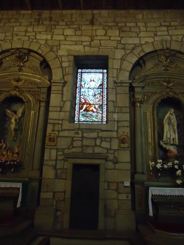 Vitral, igreja Matriz, Chaves