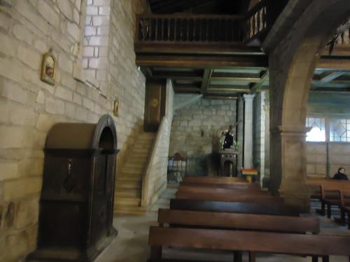 Escadas de acesso a torre sineira, Igreja Matriz, Chaves