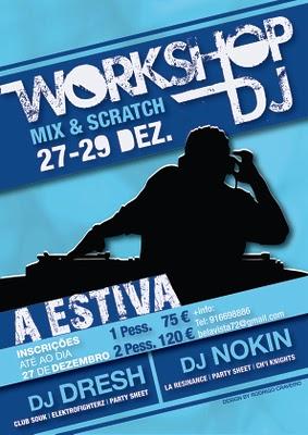 Formação para DJs em Angra...