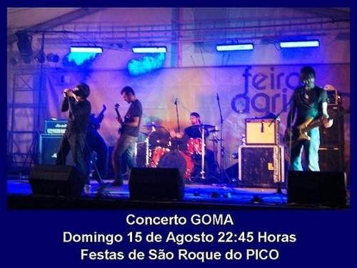Os GOMA, amanhã em São Roque do Pico...
