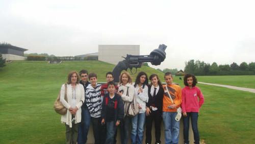 Jovens de Avintes participam no Parlamento Europeu Jovem em França 2009