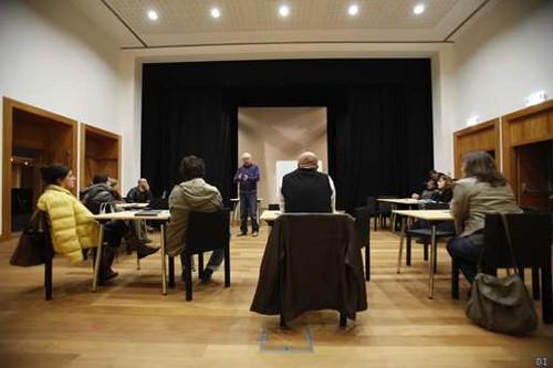 Momento de uma das sessões do workshop...