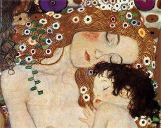 Mãe e Filho - Gustav Klimt