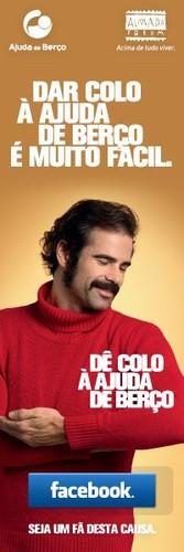 O actor Pedro Lima é um dos rostos da campanha...
