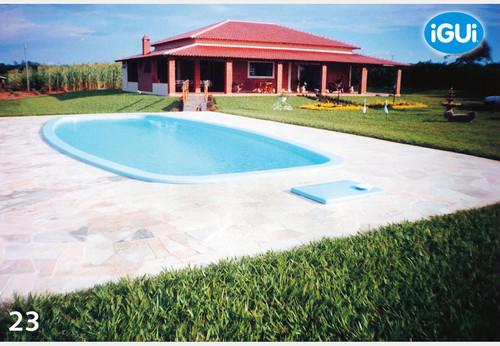 Piscina modelo c lari piscinas igui maia for Marcas de piscinas desmontables