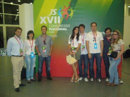 Grupo JS no congresso