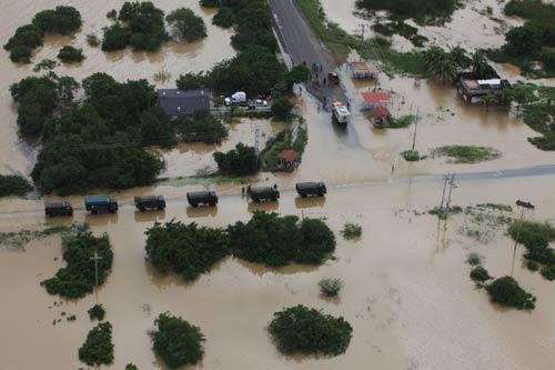 inundações Venezuela