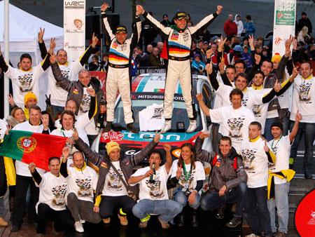 Armindo Araújo e Miguel Ramalho sagraram-se bi-campeões do Mundo no PWRC...