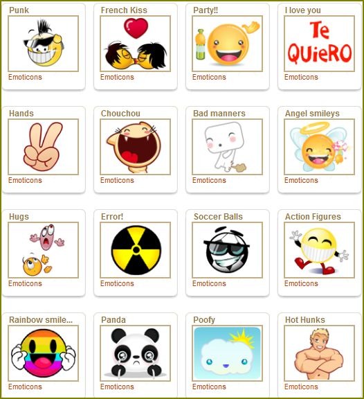 Instant Message Emoticons : Download emoticons pt messenger curhundb