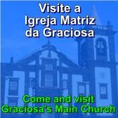 Visite a Igreja Matriz da Graciosa / Visit the main church in Graciosa Island