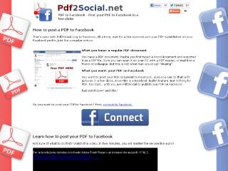pdf facebook