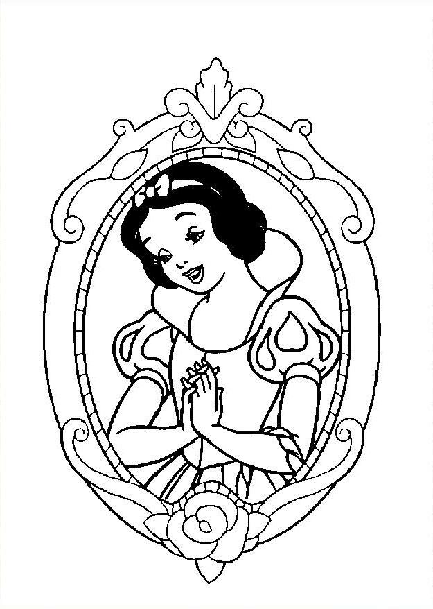 Pinta A Branca De Neve A Magia Da Disney